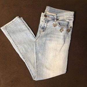 LOFT Jeans - LOFT Jeans with Jewels 25/0P Relaxed Skinny